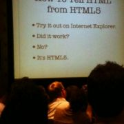 How to tell HTML from HTML5