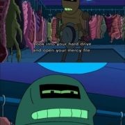 One of my favorite Futurama lines.