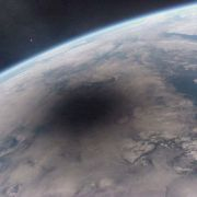 An Eclipse as seen from space