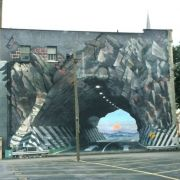 Mural on the back of Acme Incorporated.