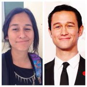Anyone else think my friend looks like the female version of Joseph Gordon-Levitt?