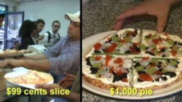 New York: Pizza from $1 to $1,000