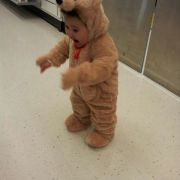 RAAAAR!!! My son in his bear costume. :)