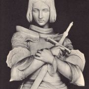 Joan of Arc sculpture, by Princess Marie of Orleans