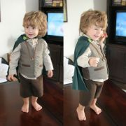 My son loved his Hobbit costume!