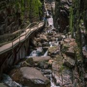 The Flume Gorge in New Hampshire