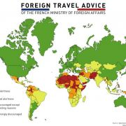 Foreign travel advice of the French Ministry of Foreign Affairs.