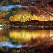 Autumn in the Scottish Highlands.