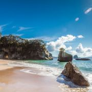 Summer is coming! Cathedral Cove, New Zealand