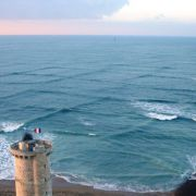 Grid waves on the French coastline