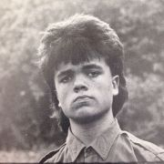 Peter Dinklage With A Nice Mullet At Graduation