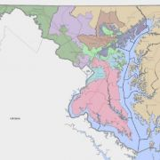 Maryland's congressional voting districts