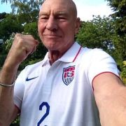 Even Patrick Stewart has given up on England