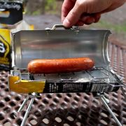 Teeny tiny BBQ made from a drink can