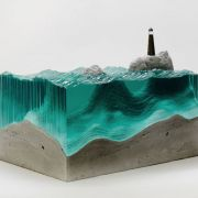 Waves of Cut Glass