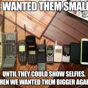 we wanted them smaller..
