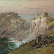 William Trost Richards - Tintagel, 1881