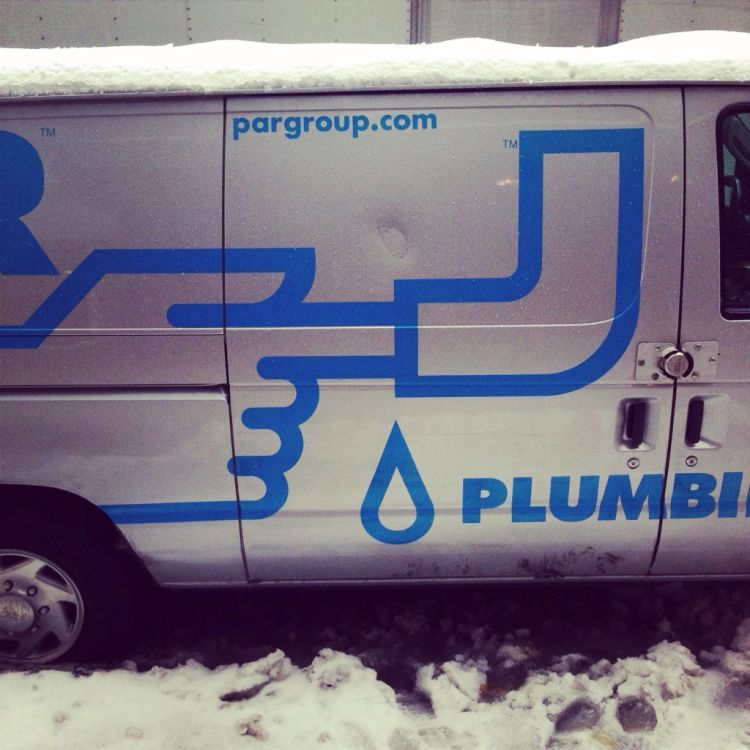 You've just been serviced by fingerbang plumbing