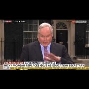 Amid the chaos of the reshuffle, Sky News' Adam Boulton became so excited he swallowed a fly on live television, looked momentarily as if he was about to vomit, then carried on as if it were the kind of the thing he'd gladly do again in the name of broadc