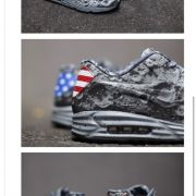 Nike is coming out with these Air Max Lunar90's to commemorate the 45th anniversary of Neil Armstrong setting foot on the moon!