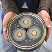 Cross Section of Undersea Cable