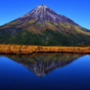 Mt. Egmont, also known as Taranaki, New Zealand by Marco Grassi