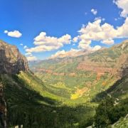 Hiking above Telluride, Colorado today