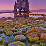 Beautiful Rock Formation In Iceland, by Brian Rueb