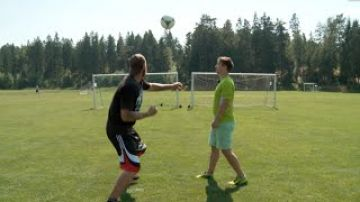 World Record Football Punch | Robert Helenius vs. Lassi Hurskainen