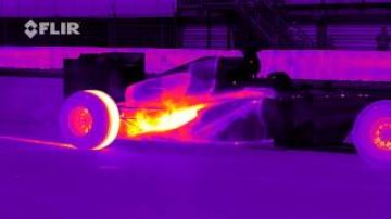 Red Bull Racing's RB8 Tearing it Up in Infrared