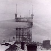 The Telefontornet connecting some 5,000 phone lines in Stockholm, 1890.