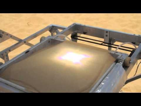 Portable Solar Powered 3D printer in the Saharan Desert