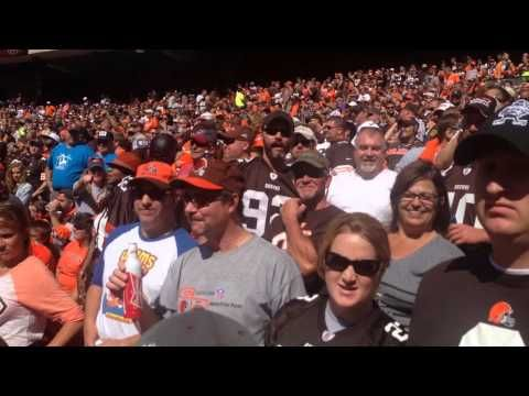 Ravens Fan Angers Browns Fans