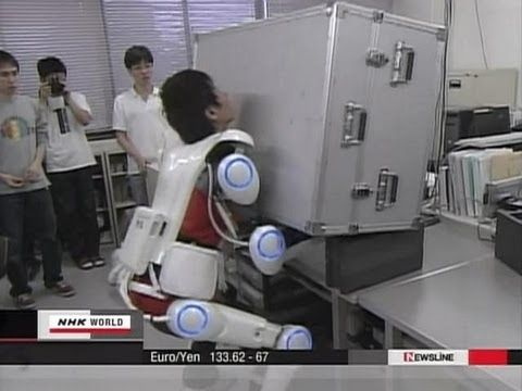 Japanese Robot Suit named HAL