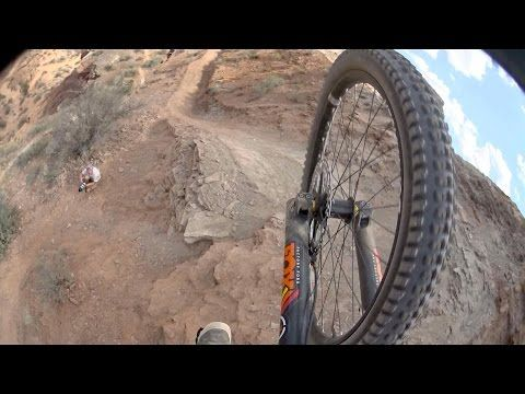Brett Rheeder Qualifier Run POV at Red Bull Rampage 2014