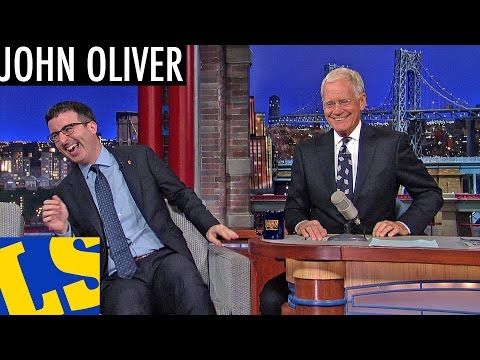 John Oliver Explains English Soccer to David Letterman