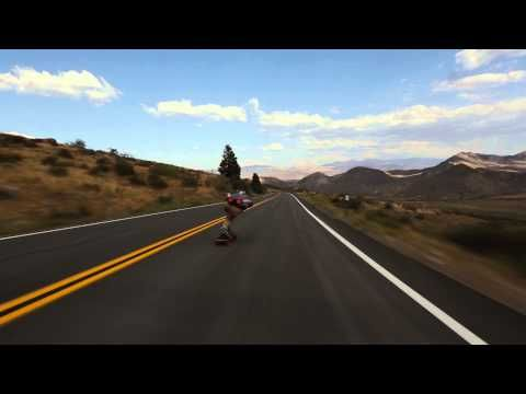 Longboard crash at 65mph