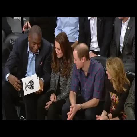 Dikembe sharing popcorn with the Royals