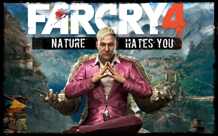 Just picked up far cry 4. This would have been an appropriate tag line