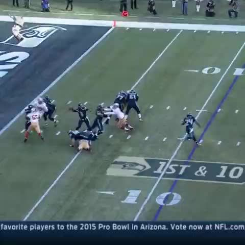 This might be Russell Wilson's best throw of the year.