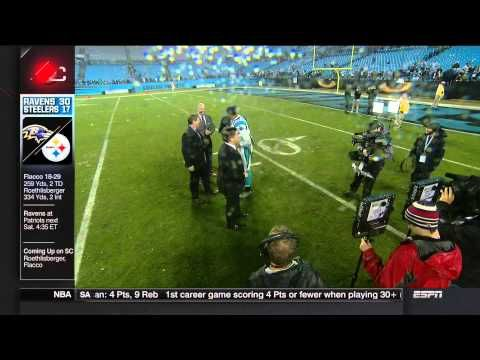 Cam Newton does the Ray Lewis Dance in front of Ray Lewis