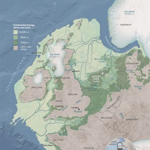 Doggerland - The Europe that once was