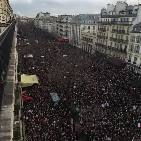 The march in Paris