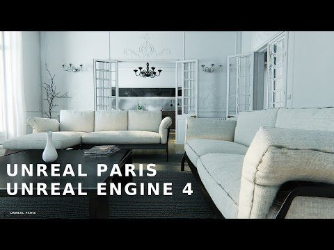 UNREAL PARIS - Virtual Tour - Unreal Engine 4