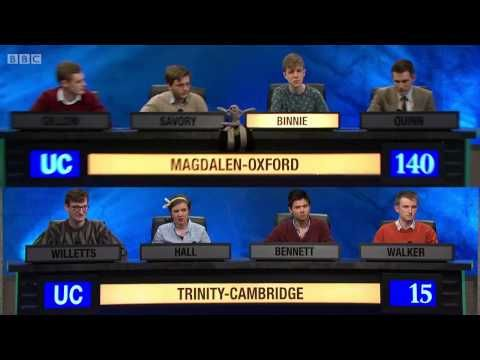 University Challenge - Quick Answer