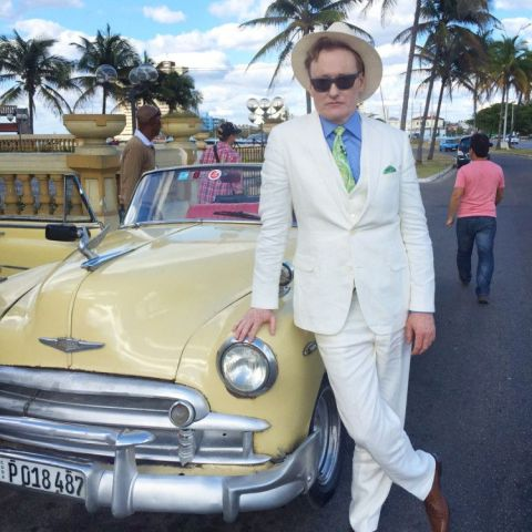 Picture of Conan in Cuba from his upcoming special