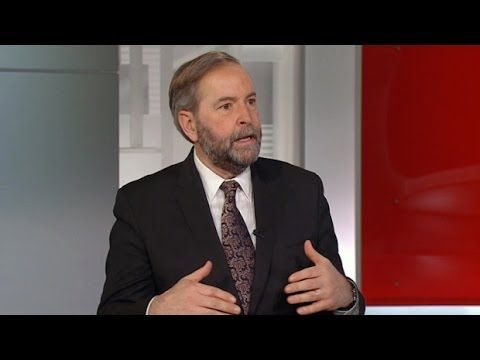 Tom Mulcair on Bill C-51