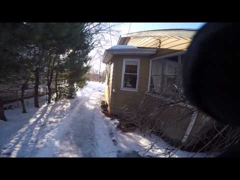 Homemade Luge Track