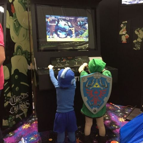 My favorite 'little heroes' at PAX East.