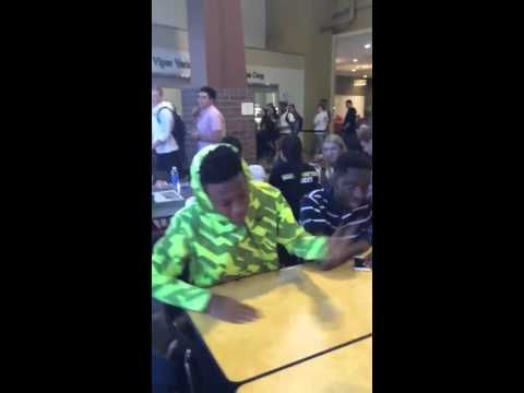 SAUSAGE beat rap in the cafeteria